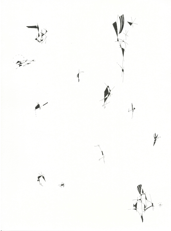 16 Title; Untitiled size 24,5cm x 33,5cm pen , paper1